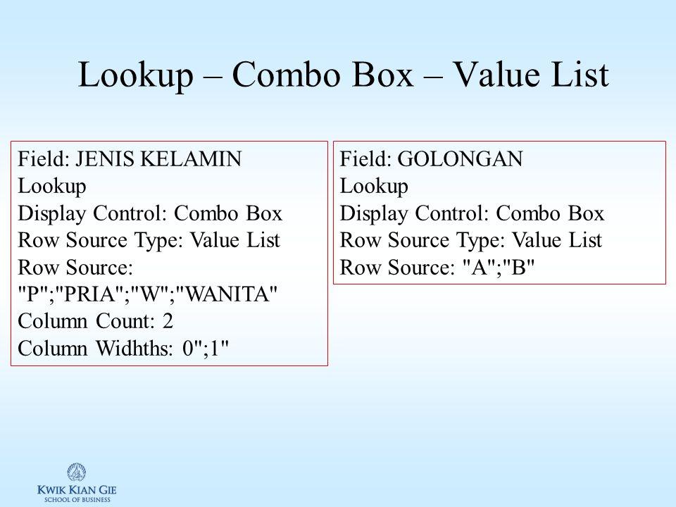Latihan 2 – 1 Buatlah sebuah tabel untuk mengolah data anggota koperasi INSTITUT ANGKASA dengan ketentuan adalah sebagai berikut: 1.
