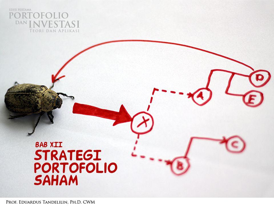 OVERVIEW  Strategi dalam investasi pada saham: Strategi pasif Strategi aktif  Konsep dan perbedaan kedua strategi tersebut 1/13