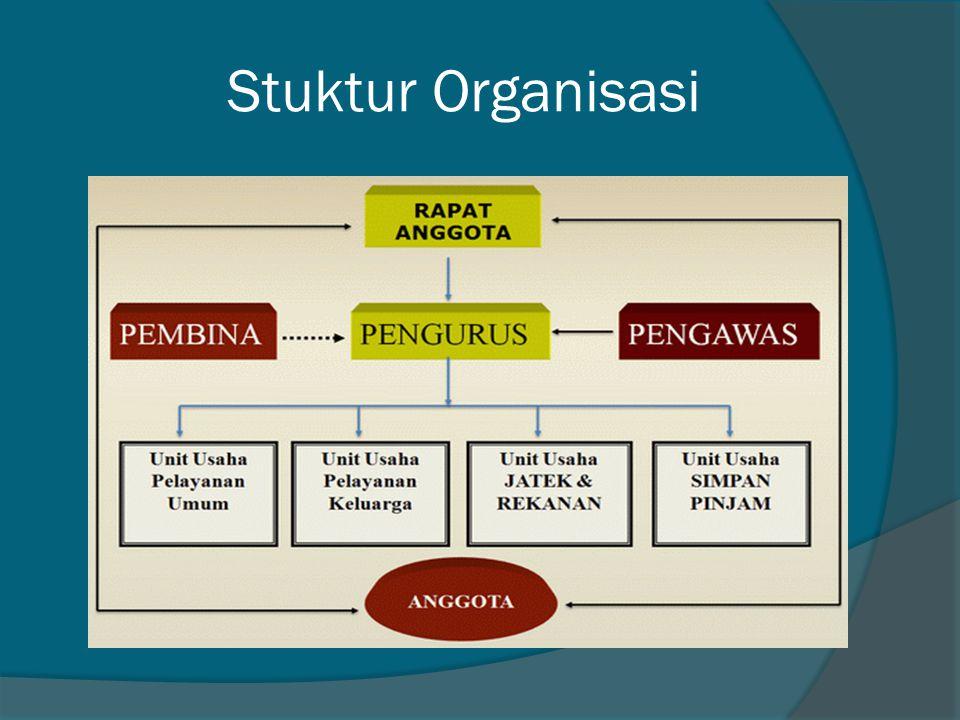 Stuktur Organisasi