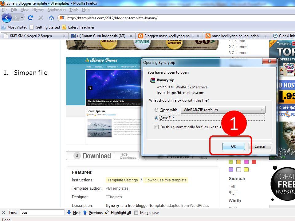 16 Created by : www.rokhmad.blogspot.com Silahkan anda buka blog anda di jendela baru Kalau sudah berubah tampilannya, berarti anda telah sukses merubah template blog anda