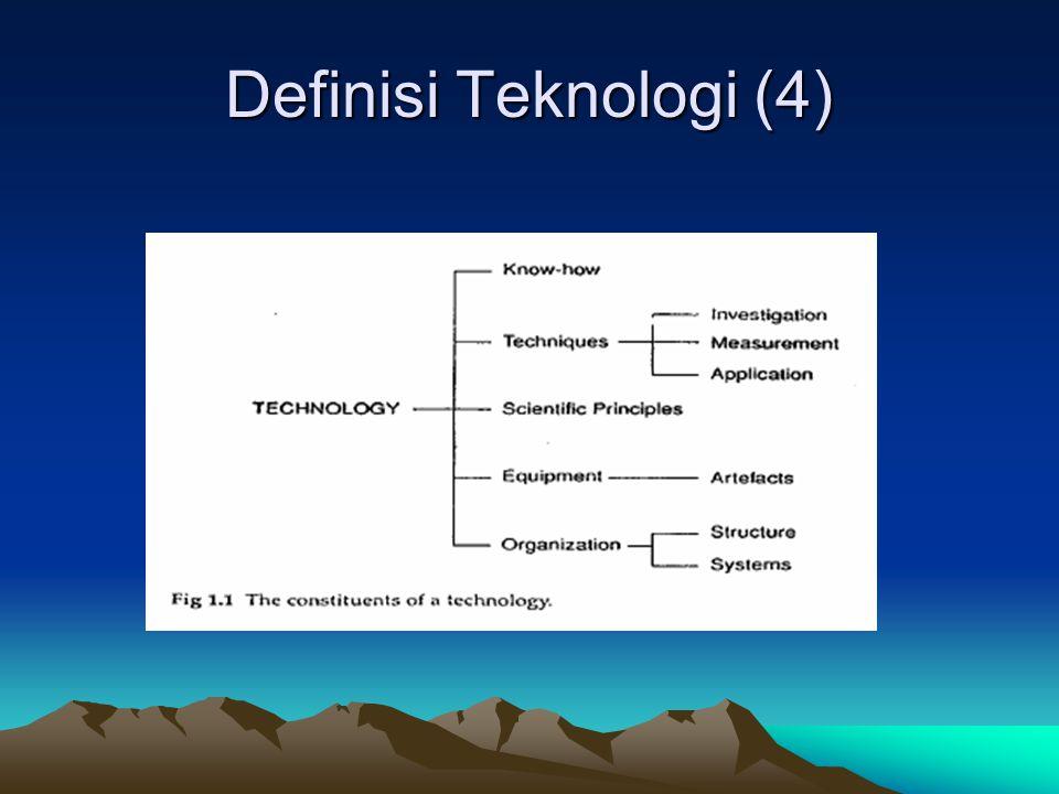 Definisi Teknologi (4)