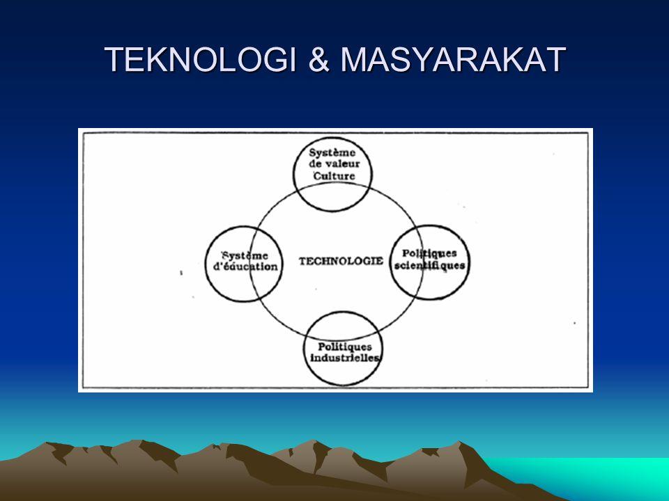 TEKNOLOGI & MASYARAKAT