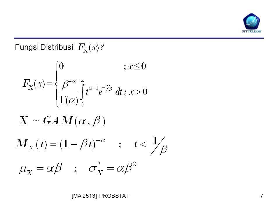 [MA 2513] PROBSTAT7 Fungsi Distribusi