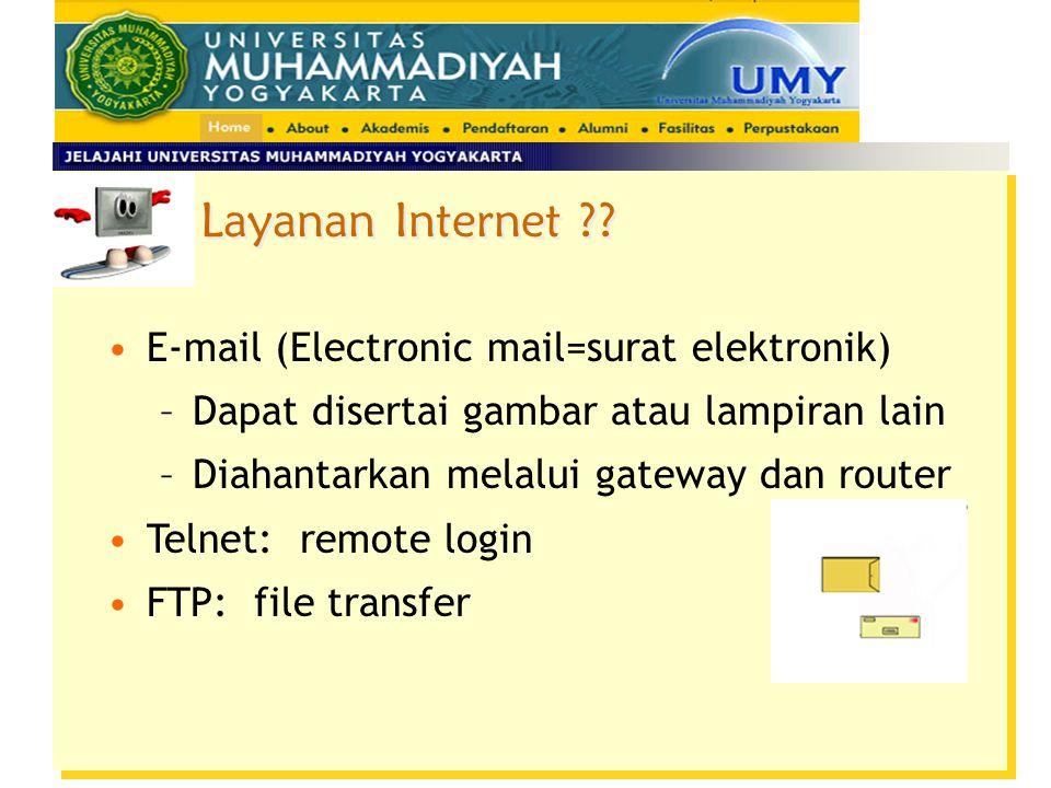 Layanan Internet ?.