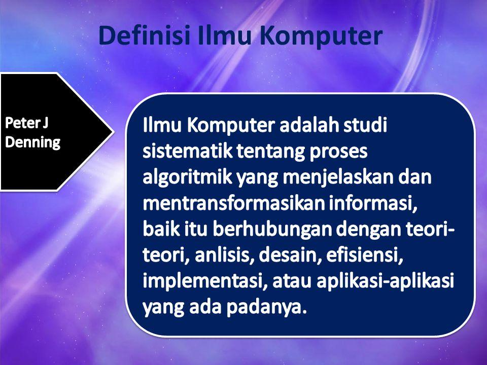 Definisi Ilmu Komputer