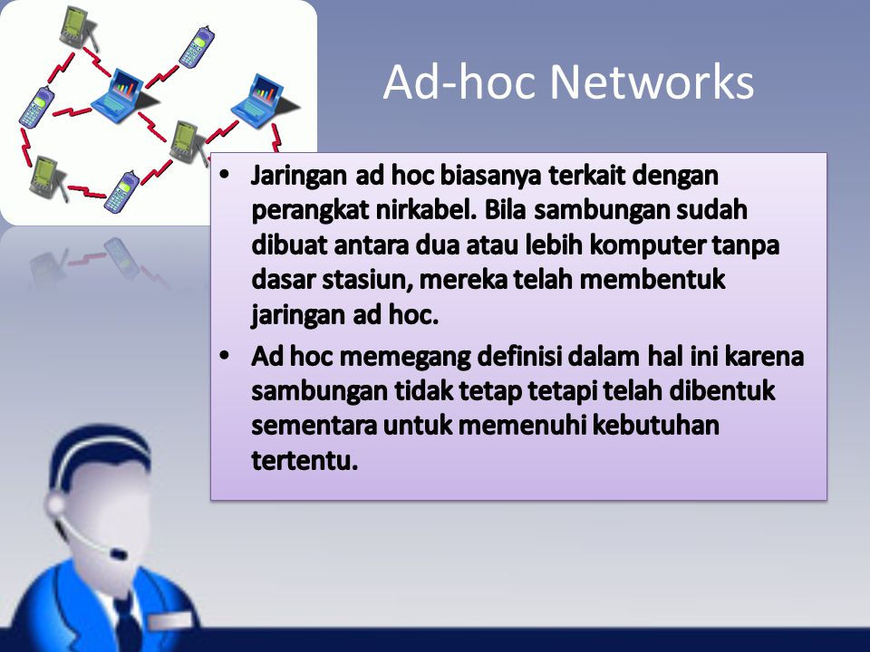 Ad-hoc Networks