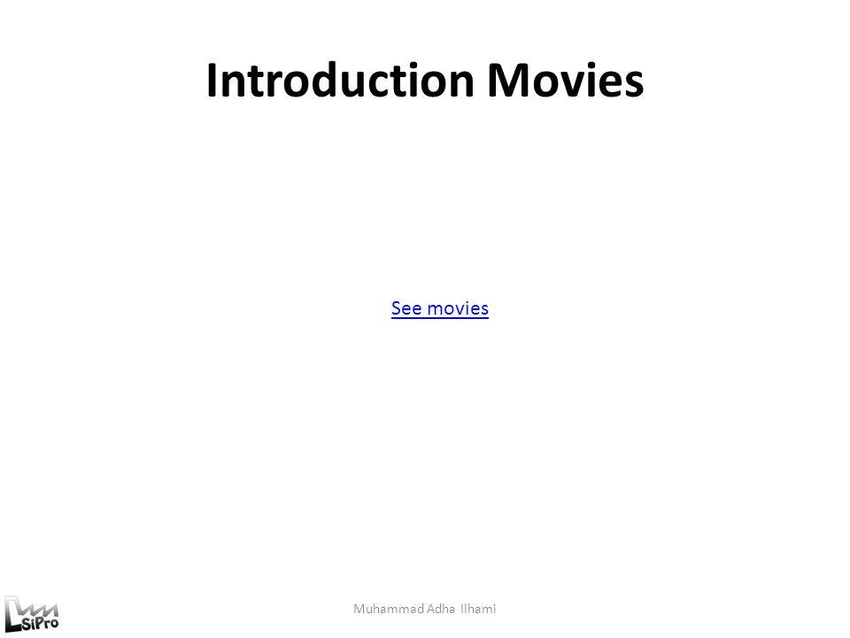 Introduction Movies Muhammad Adha Ilhami See movies