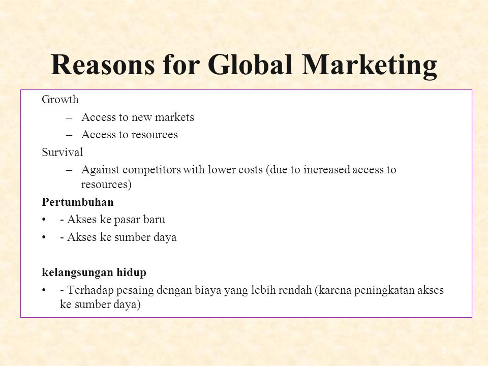 13 Why Go Global.For US-based companies, 75% of sales potential is outside the US.