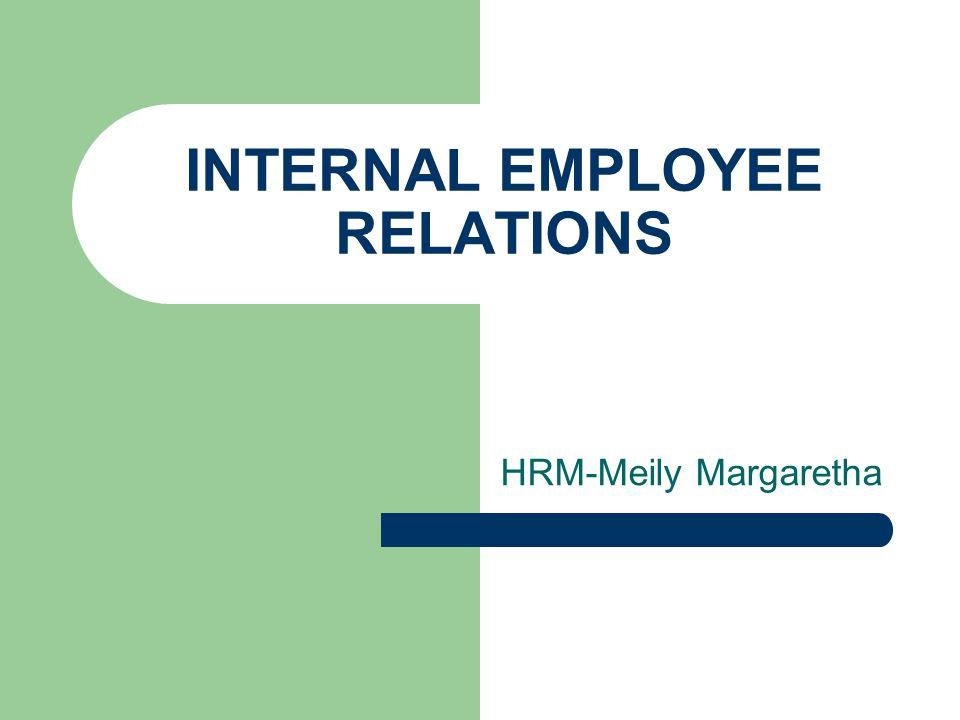 INTERNAL EMPLOYEE RELATIONS HRM-Meily Margaretha