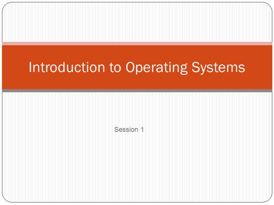 Obyek Pembelajaran Dasar Teori Sistem Operasi 1.Pengertian SO 2.
