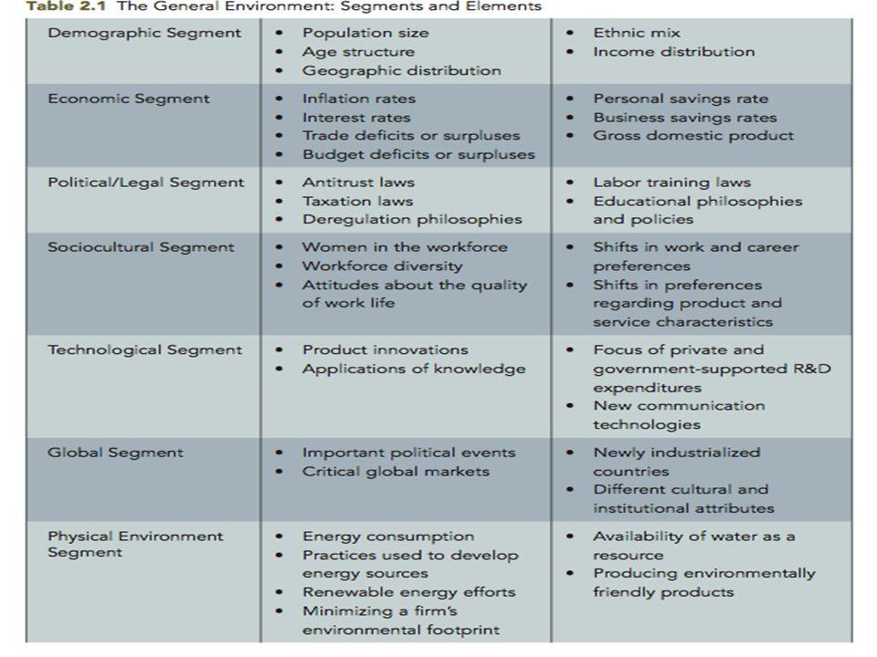Analysis Of The Firm's Internal Organization
