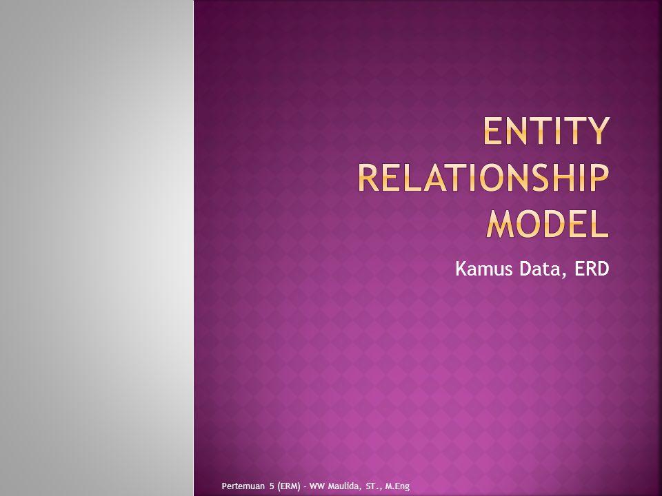  Model data adalah sebagai kumpulan perangkat konseptual untuk memaparkan data, hubungan(relasi) antar data, semantika (makna logika) data dan kendala-kendala data.