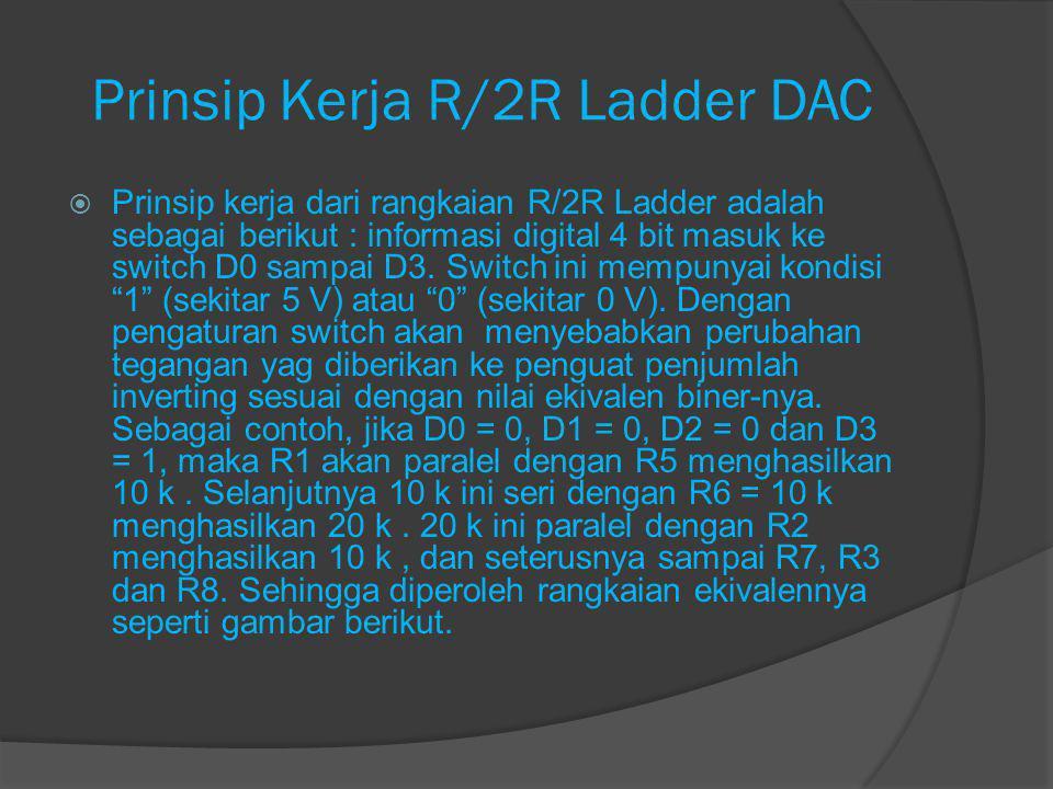Prinsip Kerja R/2R Ladder DAC~2