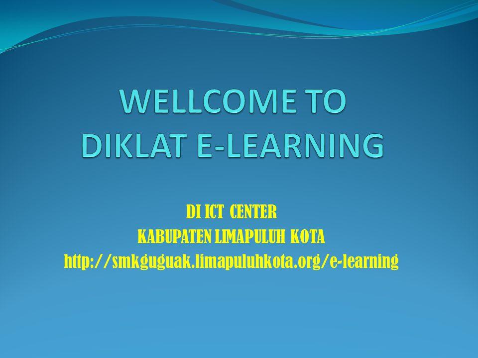DI ICT CENTER KABUPATEN LIMAPULUH KOTA http://smkguguak.limapuluhkota.org/e-learning