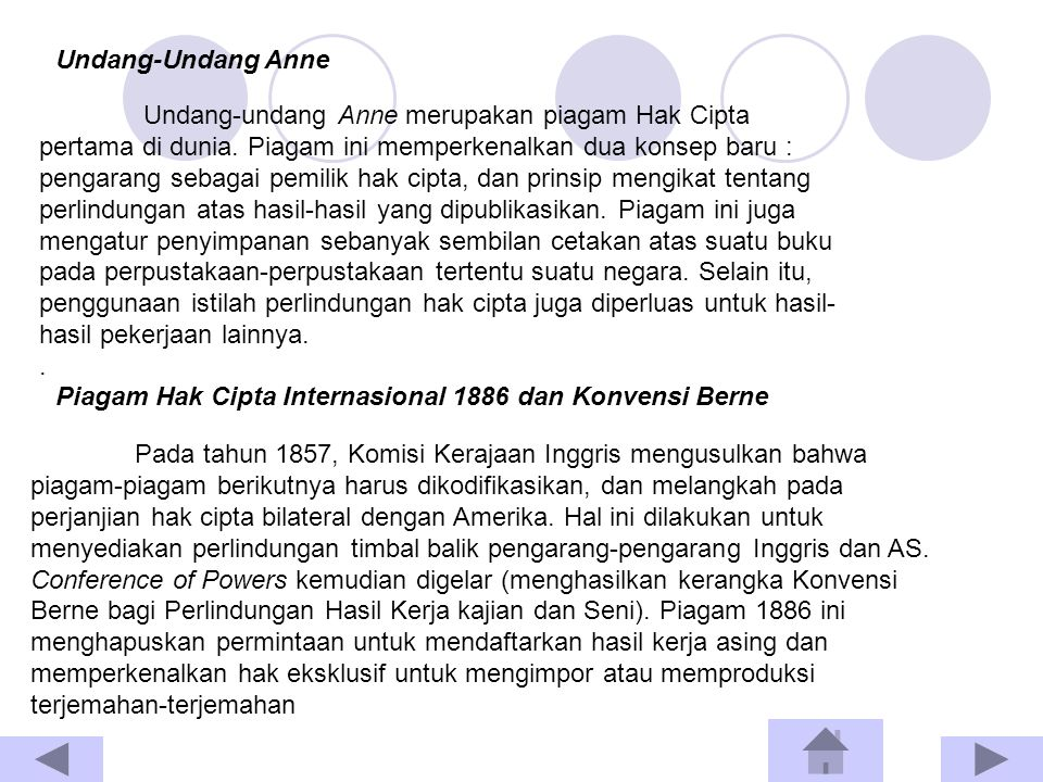 Undang-undang Anne merupakan piagam Hak Cipta pertama di dunia.