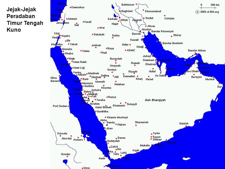 Jejak-Jejak Peradaban Timur Tengah Kuno