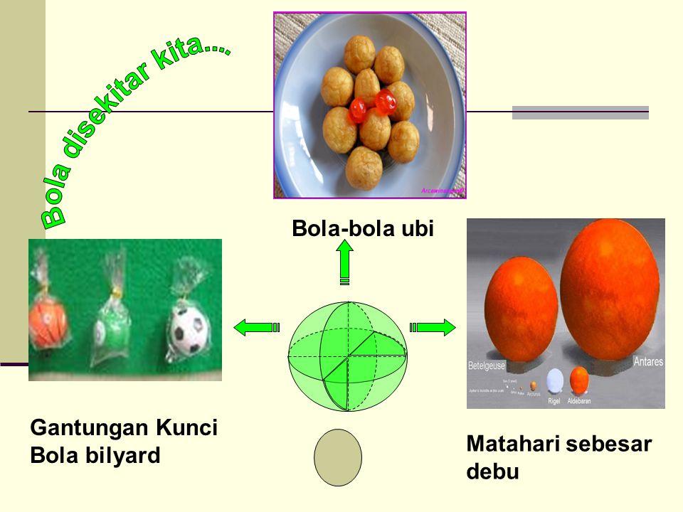 Gantungan Kunci Bola bilyard Bola-bola ubi Matahari sebesar debu