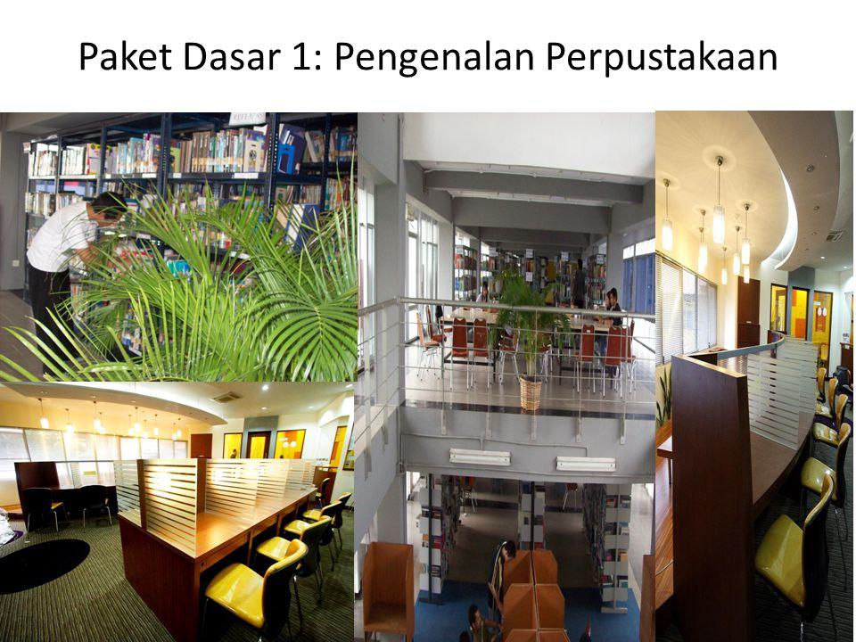 Paket Dasar 1: Pengenalan Perpustakaan