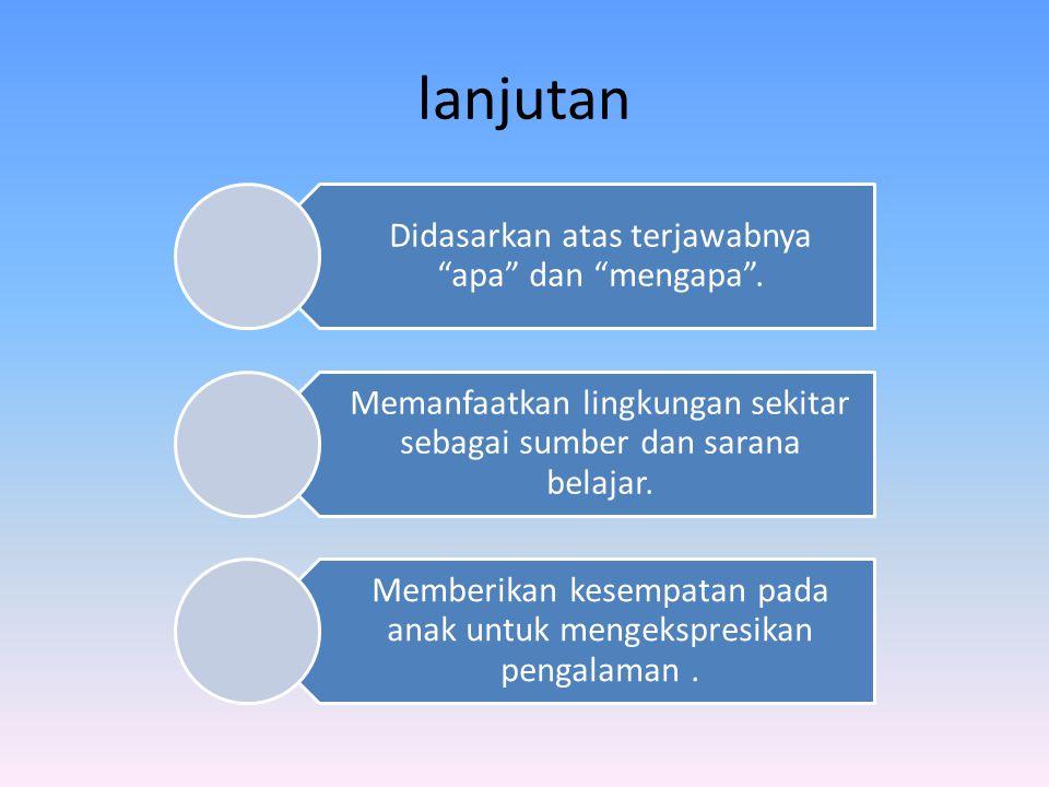 Strategi Pembelajaran a.Penilaian - pentingnya umpan balik.