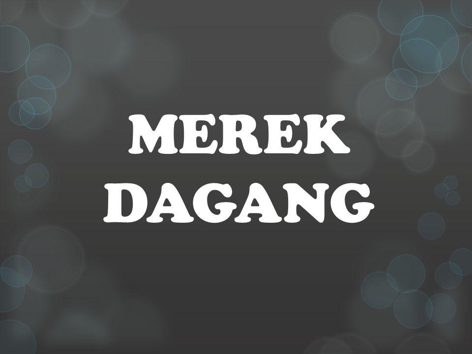 MEREK DAGANG