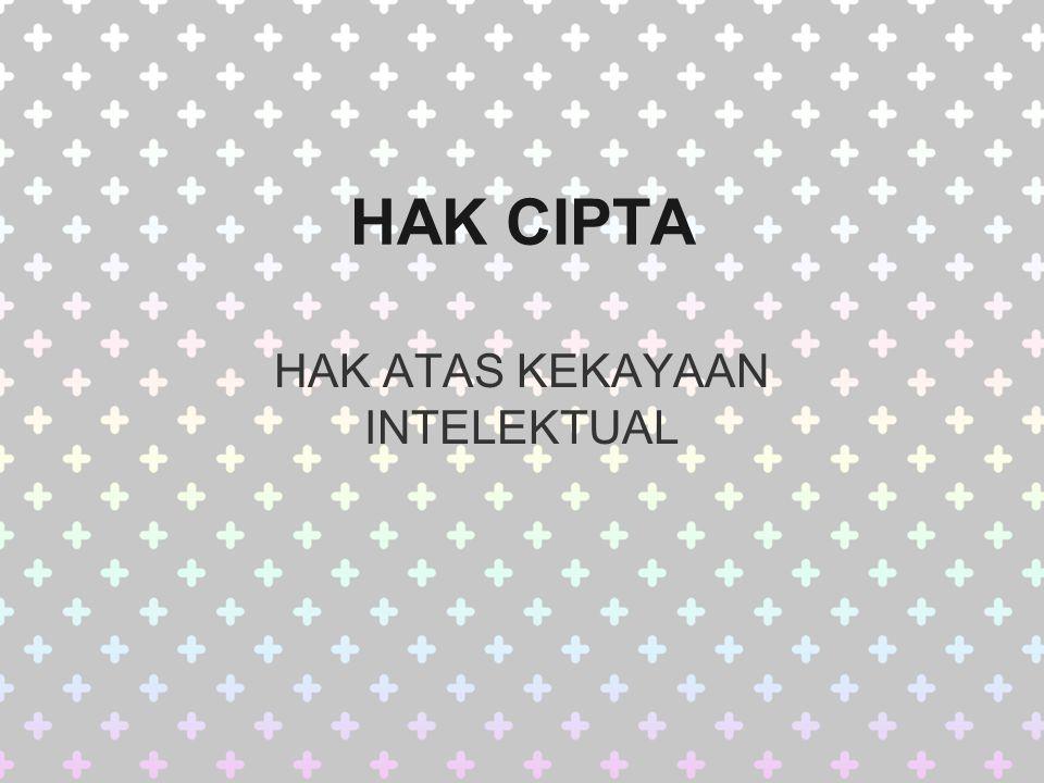 Penegakan Hukum Hak Cipta Sanksi pidana atas pelanggaran hak cipta di Indonesia secara umum diancam hukuman penjara paling singkat satu bulan dan paling lama tujuh tahun yang dapat disertai maupun tidak disertai denda sejumlah paling sedikit satu juta rupiah dan paling banyak lima miliar rupiah, sementara ciptaan atau barang yang merupakan hasil tindak pidana hak cipta serta alat-alat yang digunakan untuk melakukan tindak pidana tersebut dirampas oleh Negara untuk dimusnahkan (UU 19/2002 bab XIII).Indonesiapenjarabulantahunrupiahmiliar