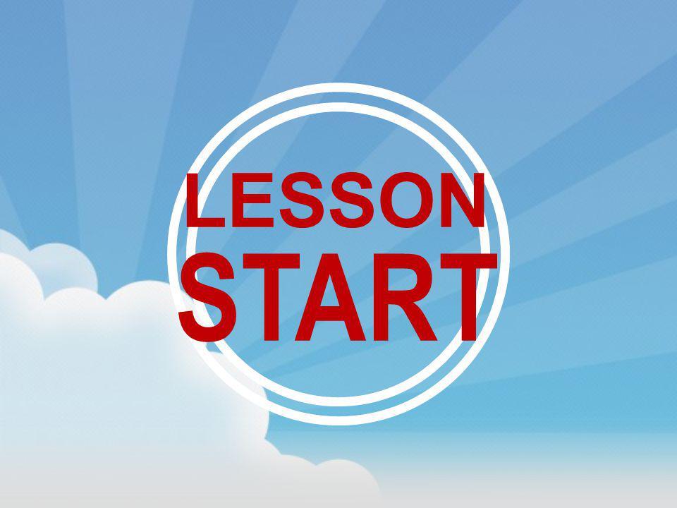 LESSON START