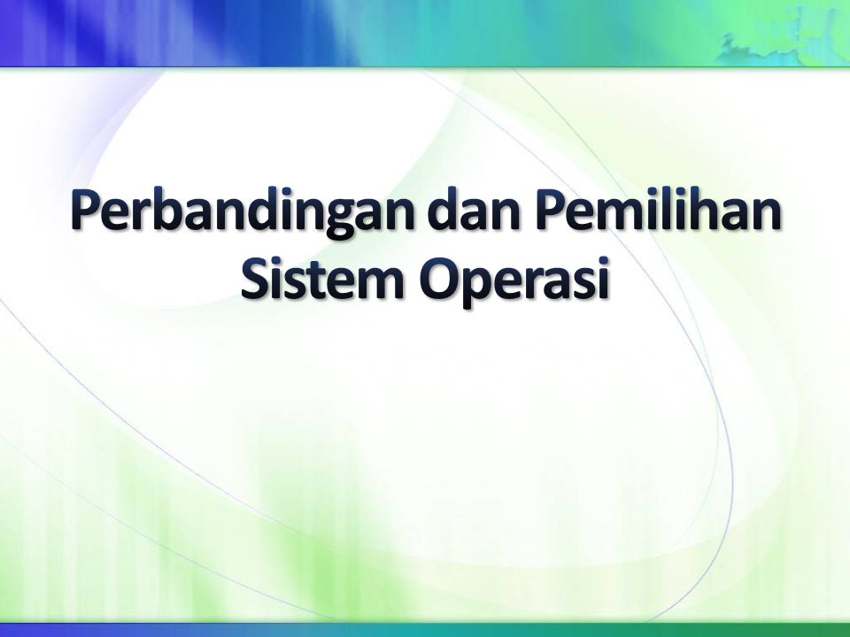 Konsep awal sistem operasi Unix yang dikembangkan 1968 masih ditemukan dalam banyak versi modern, misalnya FreeBSD dan NetBSD.