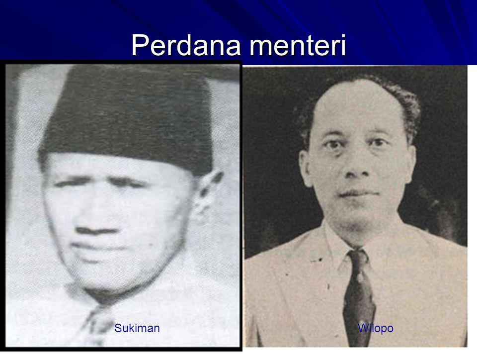 Perdana menteri SukimanWilopo