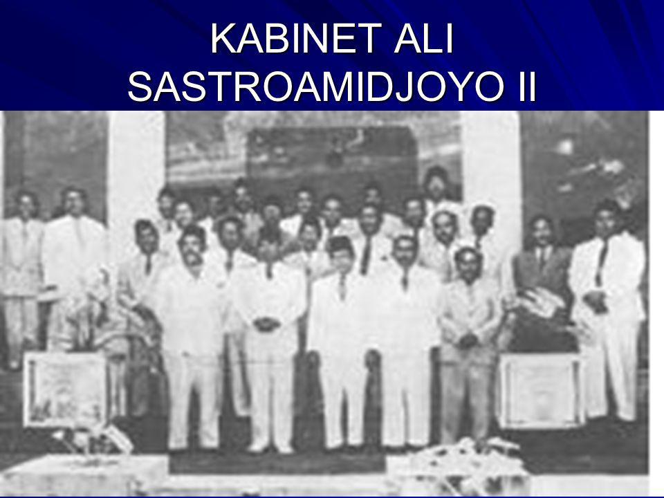 KABINET ALI SASTROAMIDJOYO II