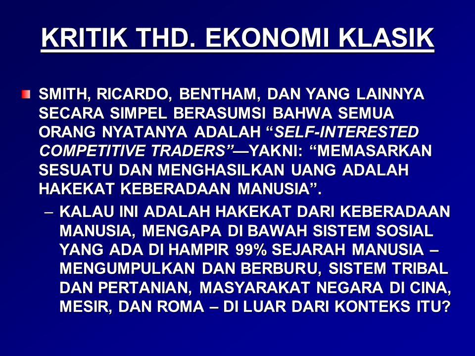 KRITIK THD.