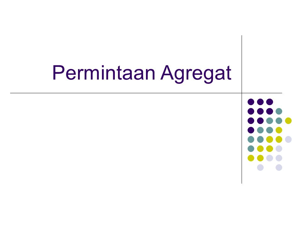 Permintaan Agregat
