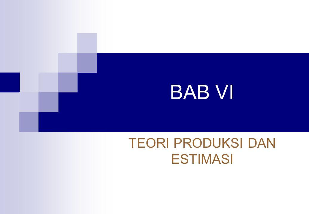 BAGIAN III ANALISIS PRODUKSI DAN BIAYA