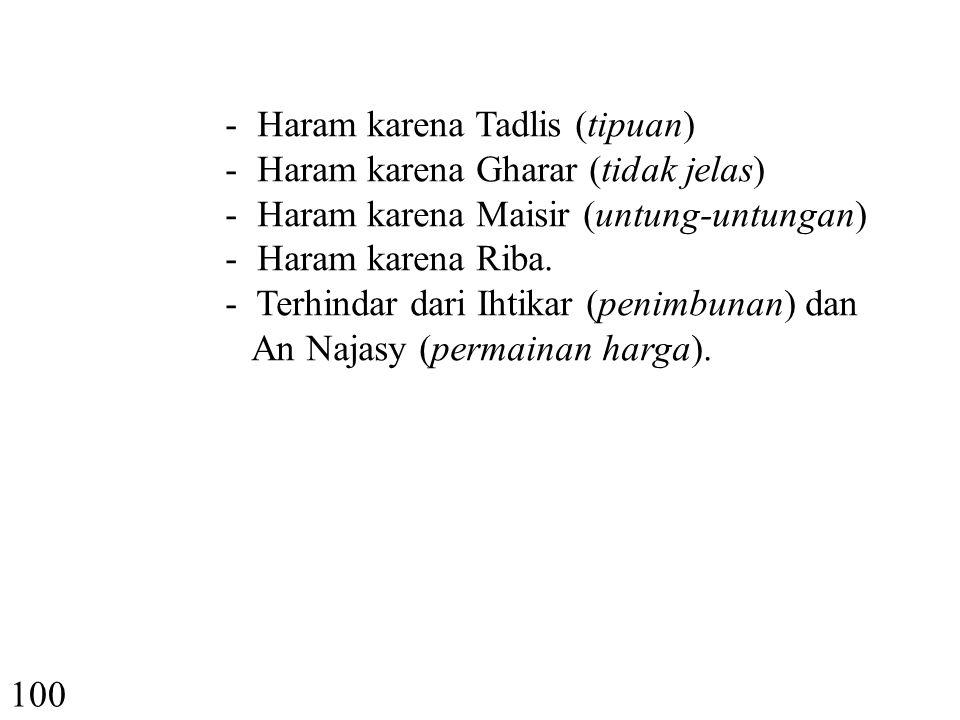 XII.INVESTASI DALAM EKONOMI SYARIAH 99 1. Prinsip Halal.