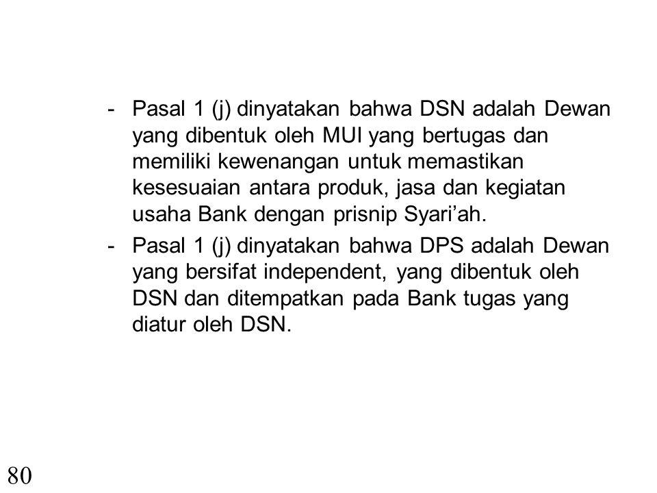 79 3.UU No. 23 Tahun 1999 tentang Bank Indonesia Pasal 1 (7) disebutkan bahwa pembayaran berdasarkan Prinsip Syari'ah adalah penyediaan uang atau tagi