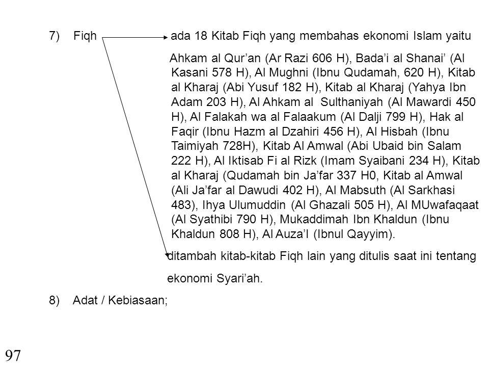 4) Aqad PerjanjianPrinsip-prinsip Aqad dalam kitab-kitab Fiqih. Pasal-pasal 1320, 1330,1336, 1244,1205 dan 1246 KUHPerdata 5) YurisprudensiPA Purbalin