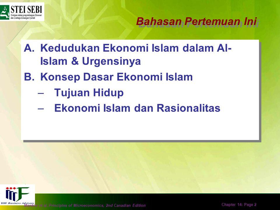 Pertemuan 2 Konsep Dasar Ekonomi Islam Azis Budi Setiawan Sekolah Tinggi Ekonomi Islam SEBI Azis Budi Setiawan Sekolah Tinggi Ekonomi Islam SEBI