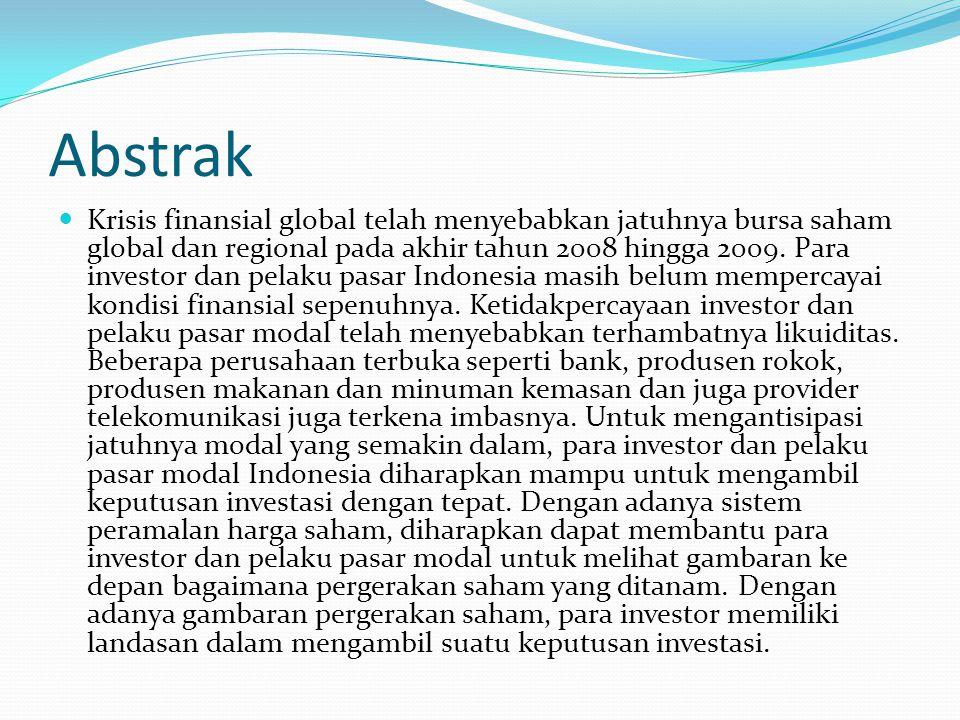 Abstrak Dalam buku yang berjudul Kiat Membangun Aset Kekayaan Panduan Investasi Saham dari A sampai Z (Raharjo, 2006), investasi merupakan penggunaan dana atau modal untuk pembelian instrument investasi, seperti saham, obligasi, reksadana, instrument pasar uang, properti dan yang sejenisnya.