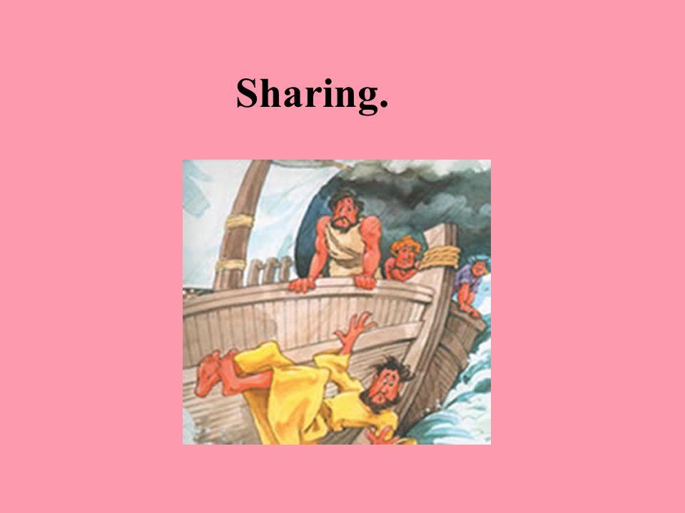 Sharing.