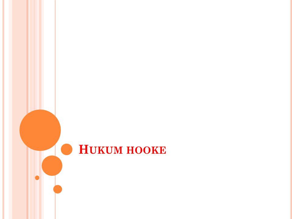 H UKUM HOOKE