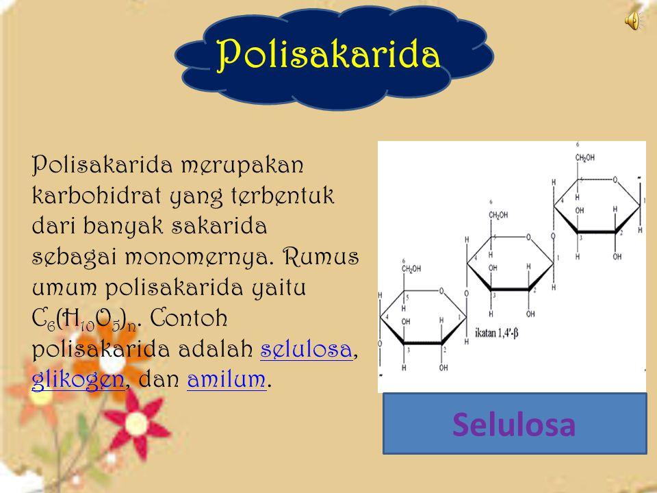 Oligosakarida  Oligosakarida merupakan karbohidrat yang terbentuk dari dua sampaidengan 8 molekul monosakarida yang berikatan melalui gugus -OH denga