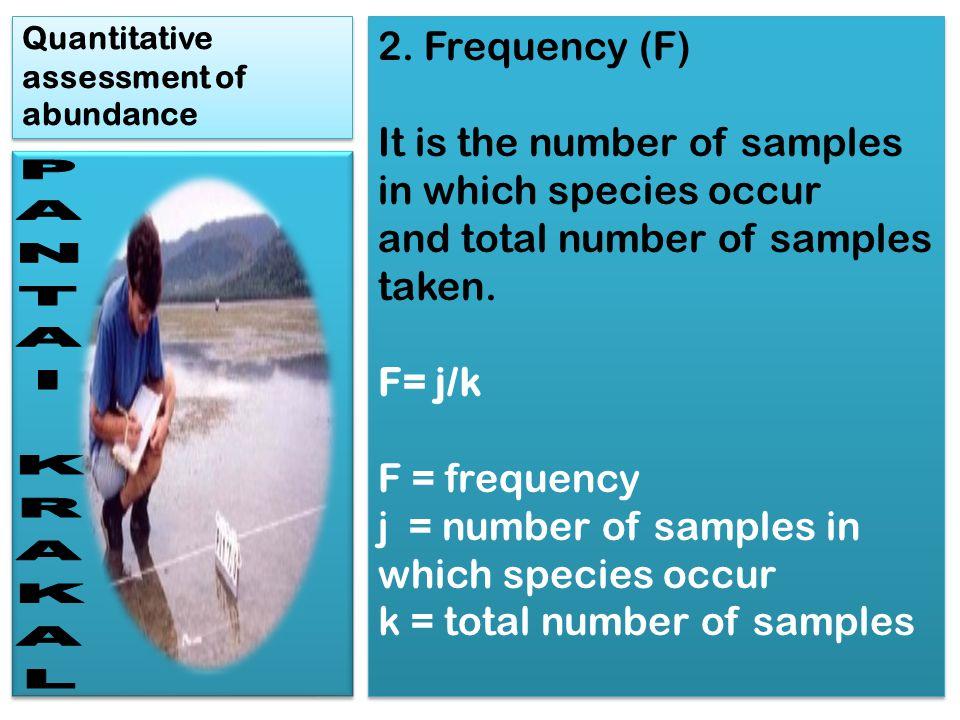 Quantitative assessment of abundance 3.Cover.