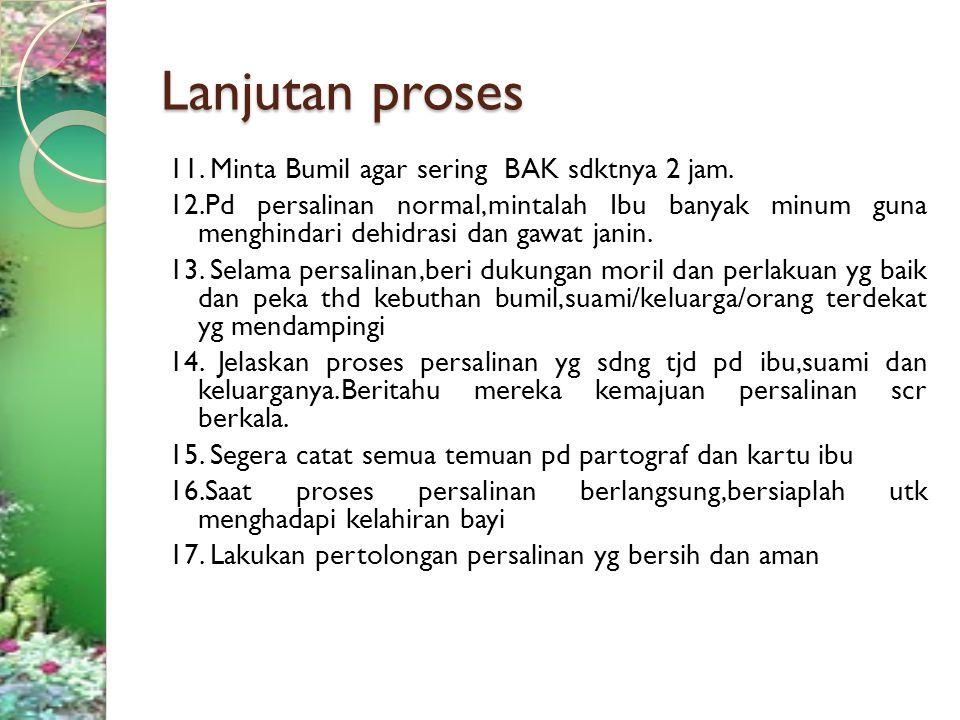 Sumber : 1.Buku Standar pelayanan kebidanan,Instrumen audit,Perubahan praktek kebidanan,Penerbit IBI,Jakarta tahun 2000