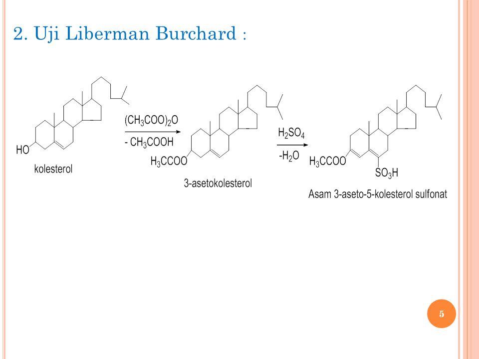 5 2. Uji Liberman Burchard :