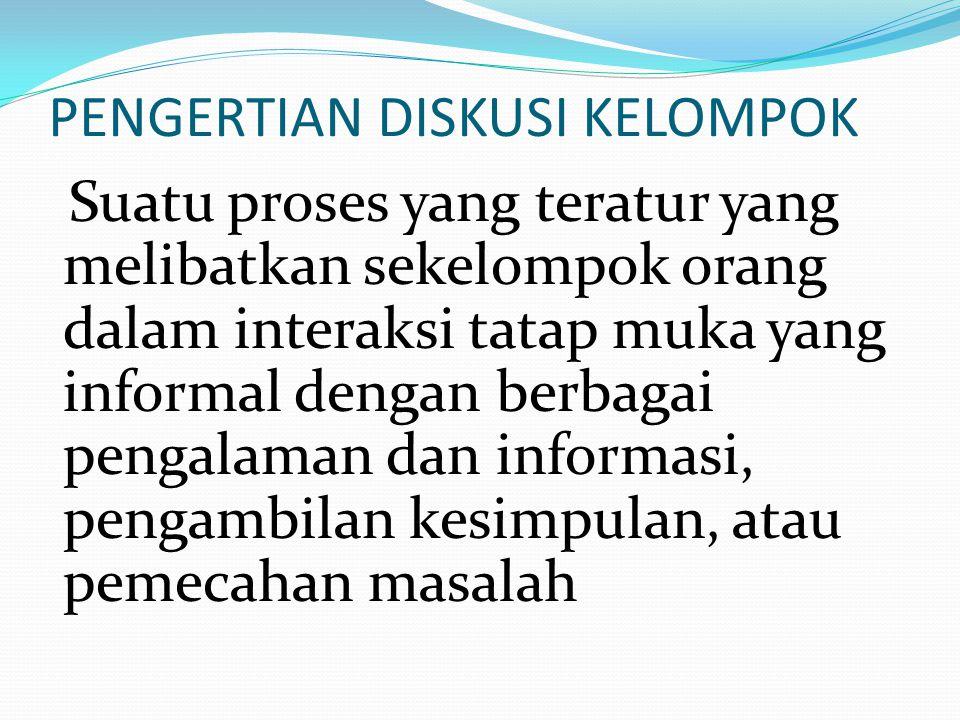 KOMPONEN KETARMPILAN MEMBIMBING DISKUSI 1.