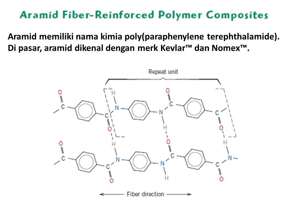 Aramid memiliki nama kimia poly(paraphenylene terephthalamide).