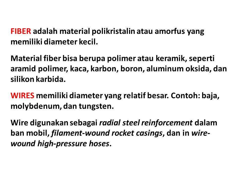 Table 3. Characteristics of Several Fiber-Reinforcement Materials
