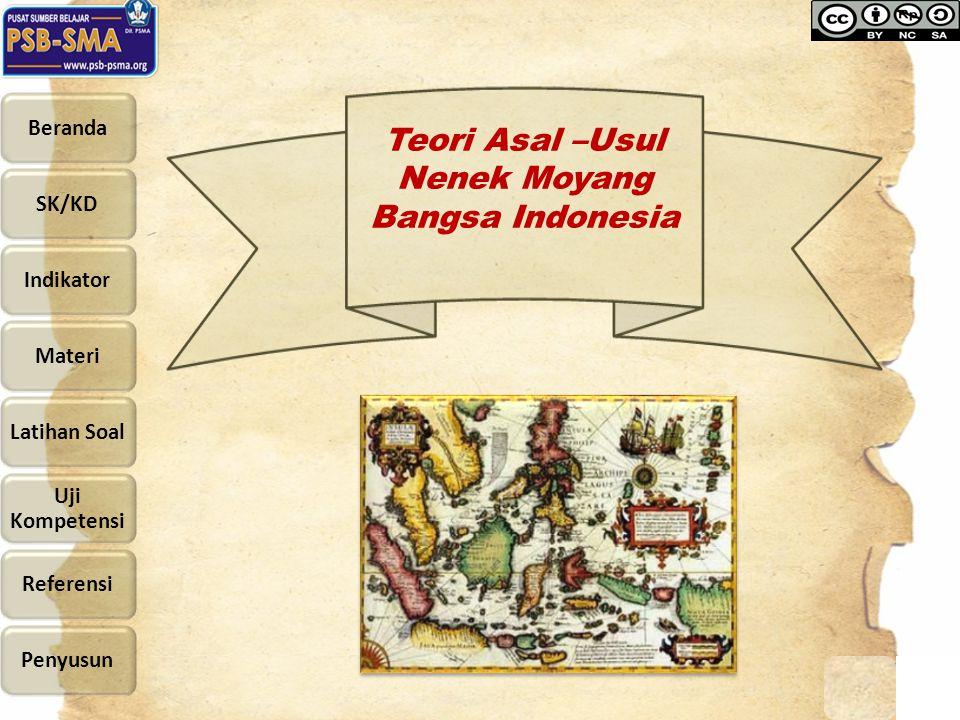 Teori Asal –Usul Nenek Moyang Bangsa Indonesia