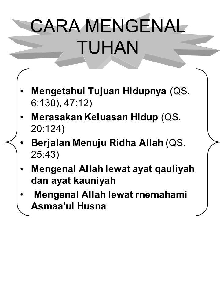 PEDOMAN HIDUP MANUSIA Al-Quran Al-karim Al-Hadist AsySyarif Aku tinggalkan dua perkara, yang apabila kamu berpegang teguhh kepada keduanya, niscaya kamu tidak akan sesat selama-lamanya, yaitu kitabullah dan sunah RasulNya (AL-Hadits)