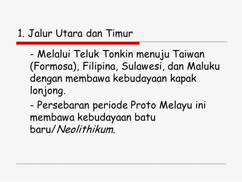 Bangsa Melayu Tua (Proto Melayu) Bangsa Melayu Tua (Proto Melayu) adalah rumpun bangsa Austronesia yang datang kali pertama di Indonesia sekitar 2000 tahun SM.