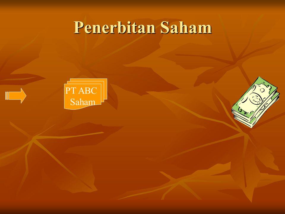 Penerbitan Saham PT ABC Saham